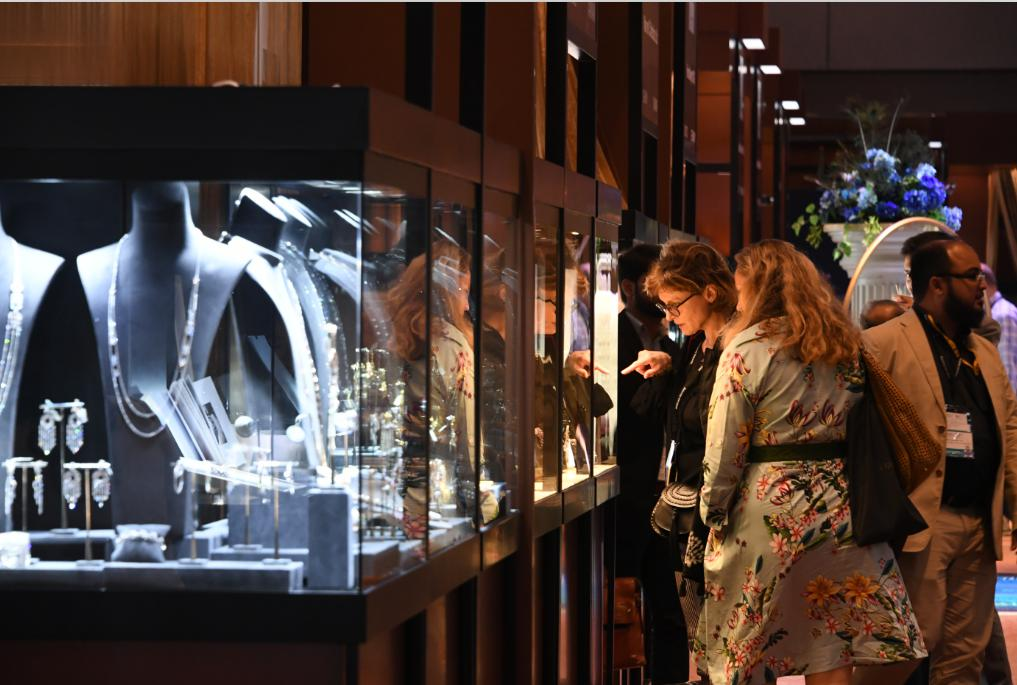 Mydarb display shown at Hong Kong International Jewellery Show